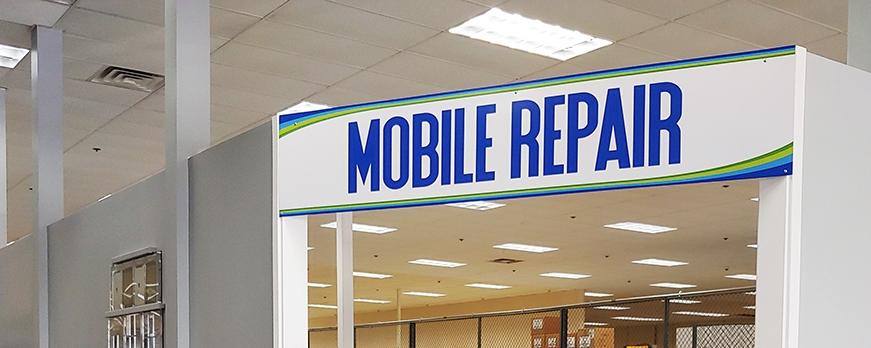 Mobile repair counter