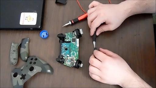 Video game controller repair
